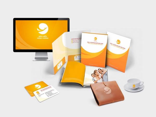 Tính chuyên nghiệp của Bigsouth Brand trong thiết kế bộ tài liệu bán hàng.