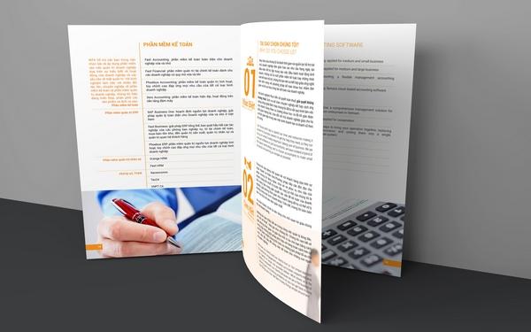 thiết kế bộ sales kit