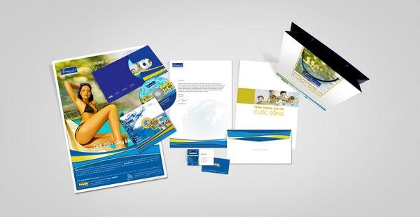 thiết kế bộ tài liệu bán hàng