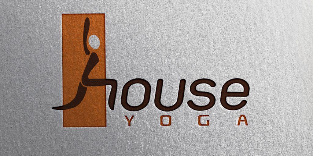 Thiết kế logo House Yoga do Bigsouth Brand thực hiện năm 2016