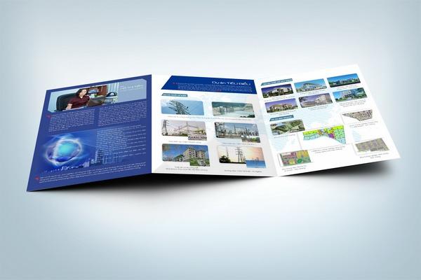 Một hồ sơ năng lực công ty xây dựng do Bigsouth Brand thiết kế.