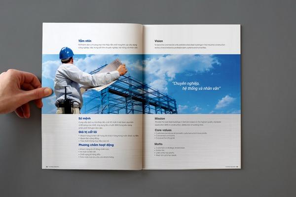 Thể hiện rõ thế mạnh của doanh nghiệp trong mỗi thiết kế là mấu chốt dự thầu thành công. (Thiết kế của Bigsouth Brand).